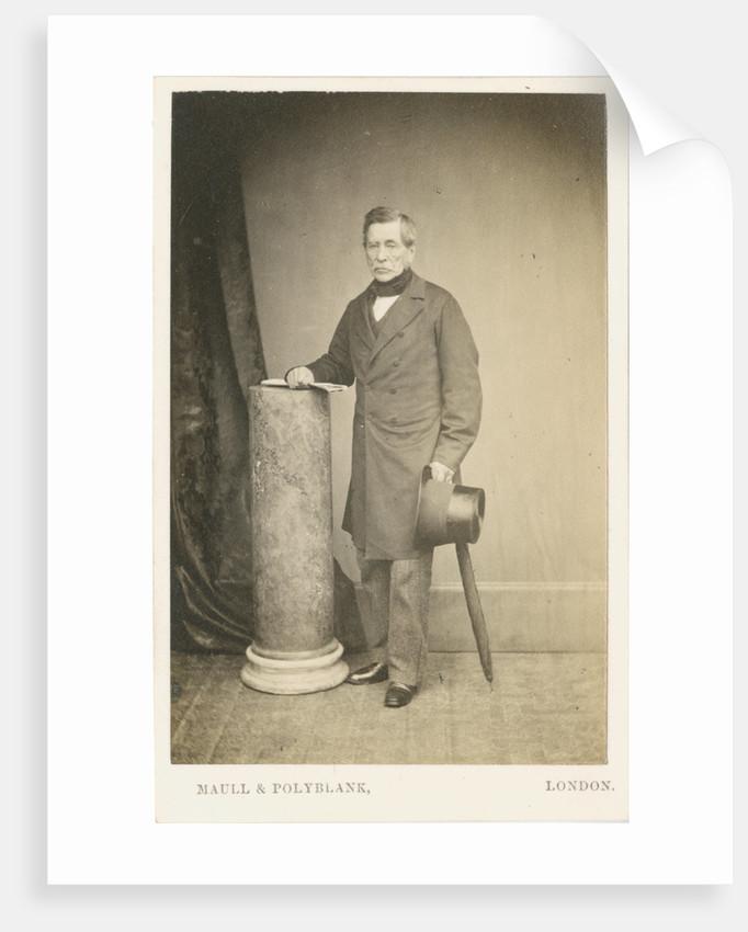 Portrait of John Fox Burgoyne (1782-1871) by Maull & Polyblank