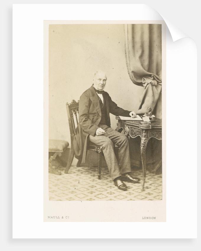 Portrait of Jonathan Cape (1793-1868) by Maull & Co