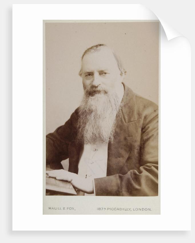 Portrait of Josiah Latimer Clark (1822-1898) by Maull & Fox