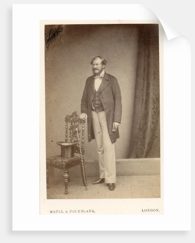 Portrait of William Willoughby Cole, 3rd Earl of Enniskillen (1807-1886) by Maull & Polyblank