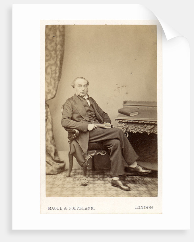 Portrait of William Cureton (1808-1864) by Maull & Polyblank
