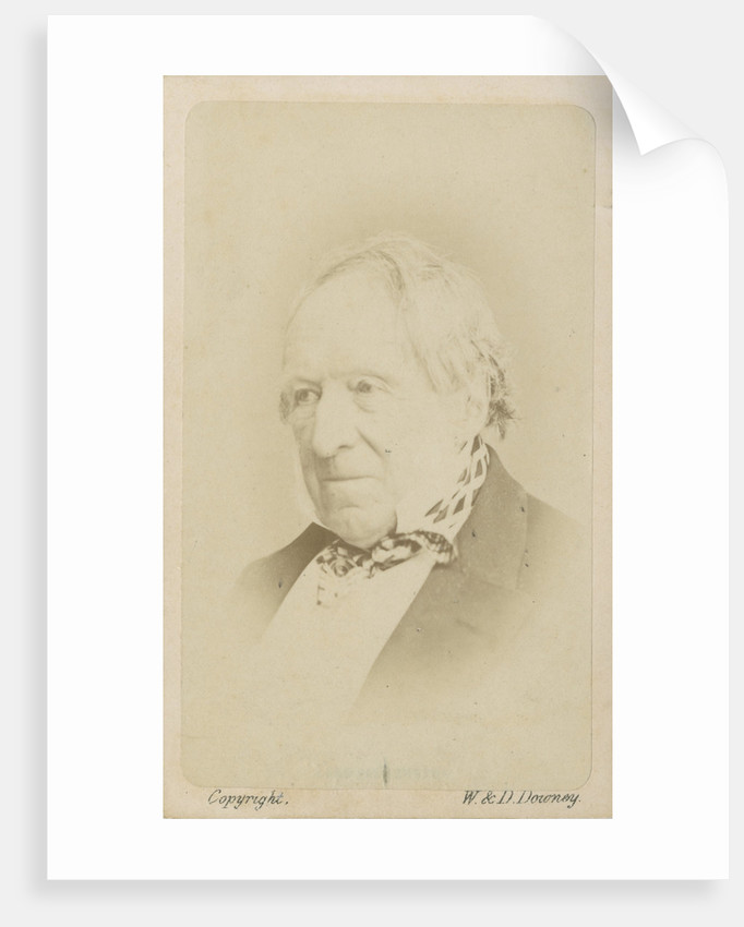 Portrait of Robert Monsey Rolfe, 1st Baron Cranworth (1790-1868) by W & D Downey