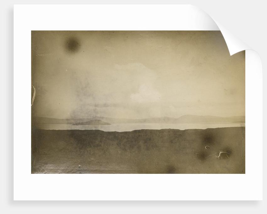 View across Lake Rotorua by Charles Spencer
