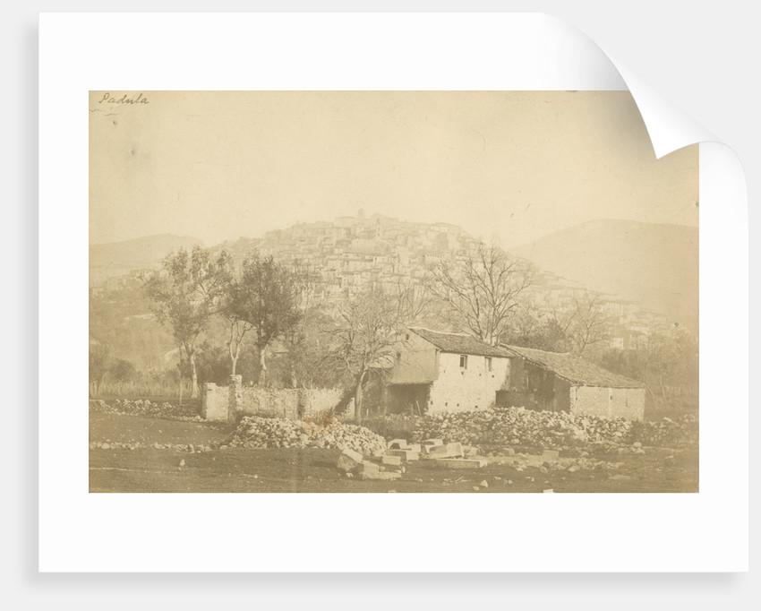 'Padula' [earthquake damage] by Alphonse Bernoud Grellier