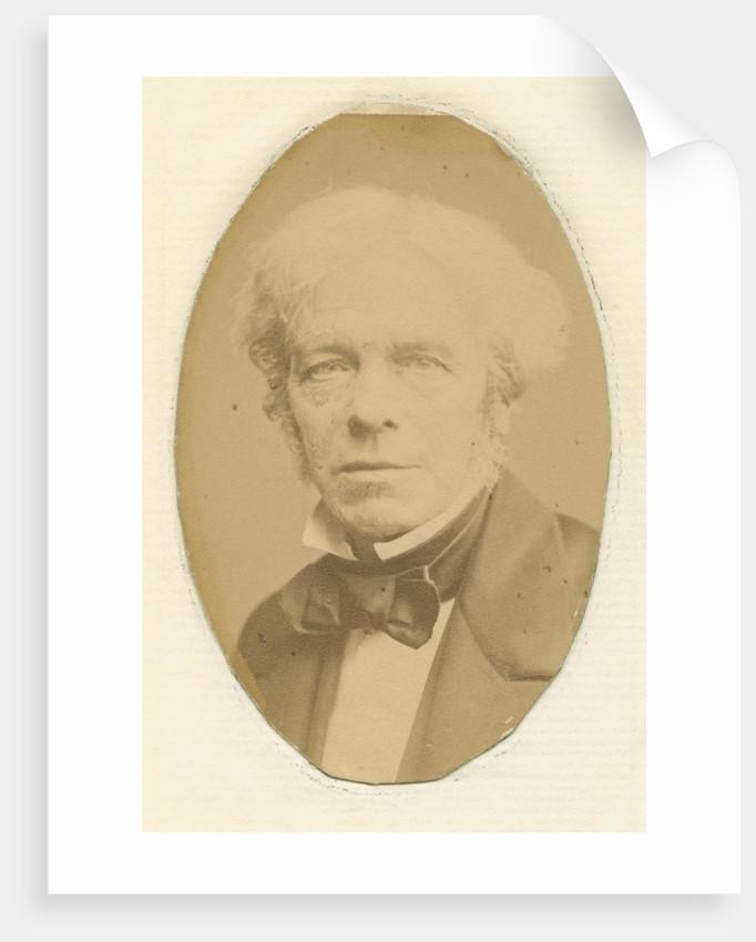 Portrait of Michael Faraday (1791-1867) by John Watkins