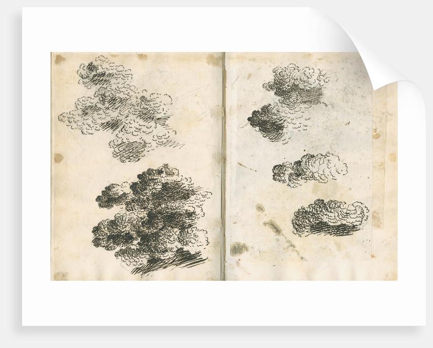 Studies of volcanic ash clouds by Antonio Piaggio