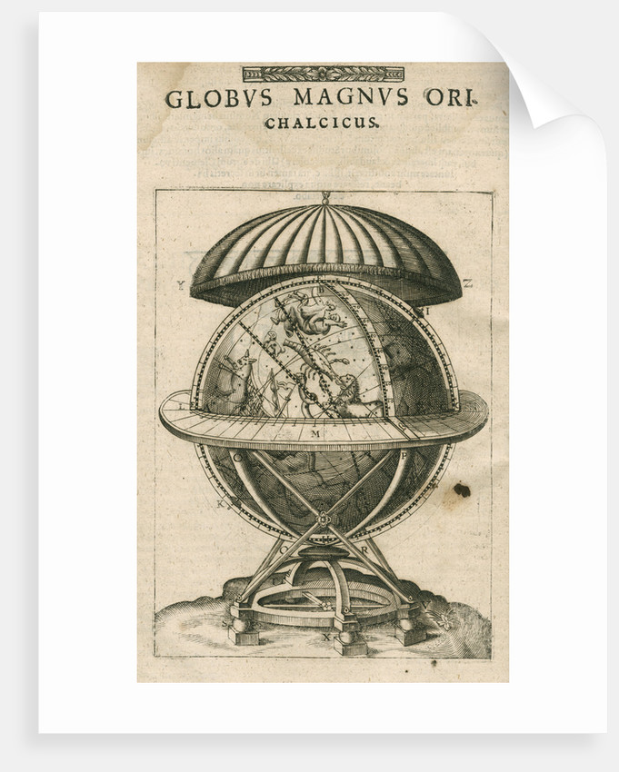 Tycho Brahe's great brass globe by Anonymous