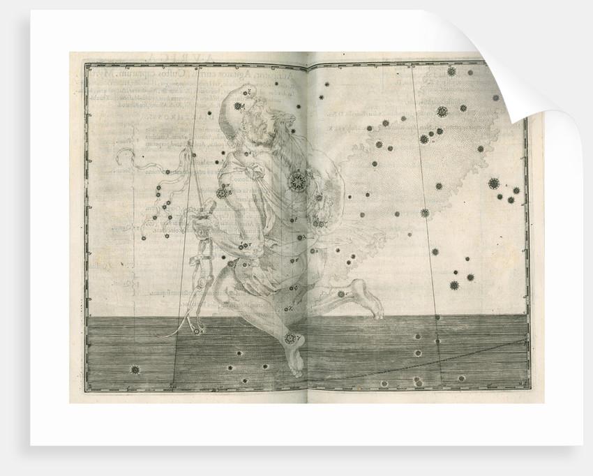 Constellation of Auriga by Alexander Mair