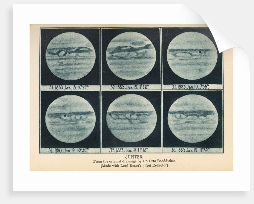 Phases of Jupiter by Anonymous