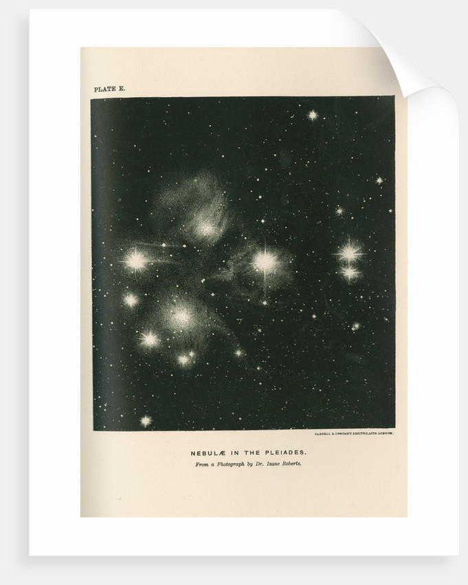 'Nebulae in the pleaides' by Cassell & Co