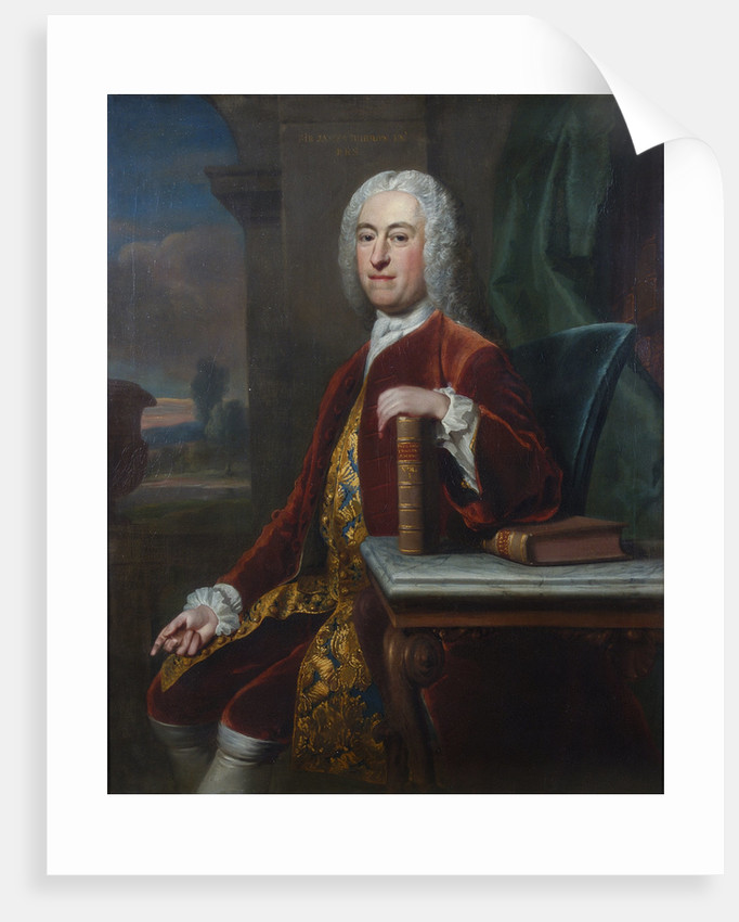 Portrait of James Burrow (1701-1782) by Jean-Baptiste van Loo