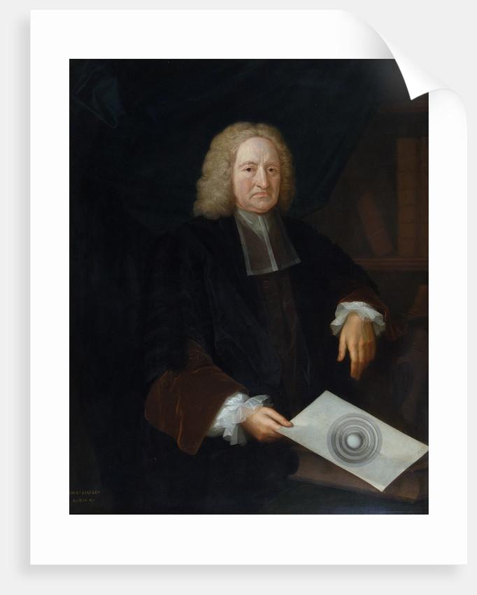 Portrait of Edmond Halley (1656-1742) by Michael Dahl
