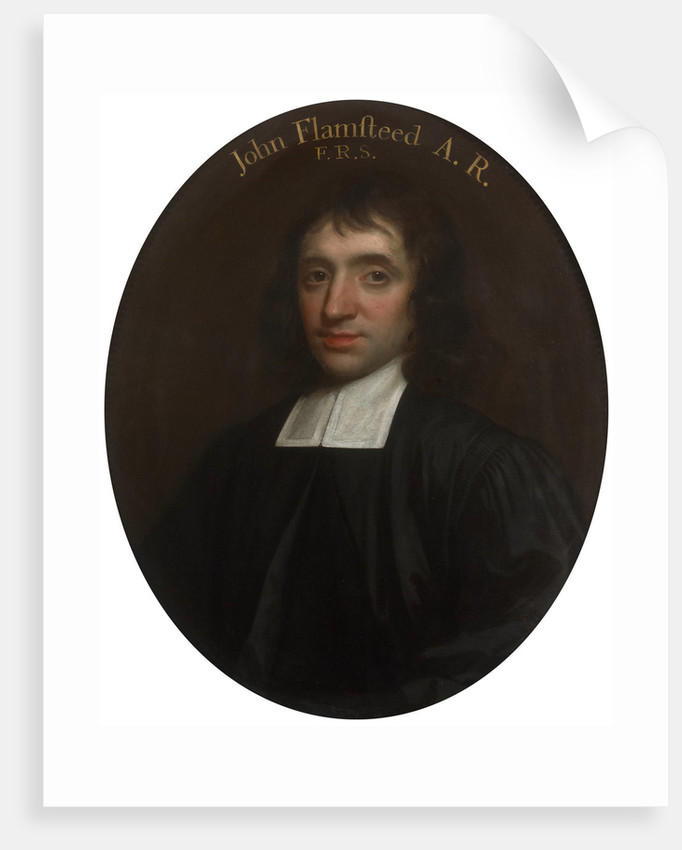 Portrait of John Flamsteed (1646-1719) by Thomas Murray