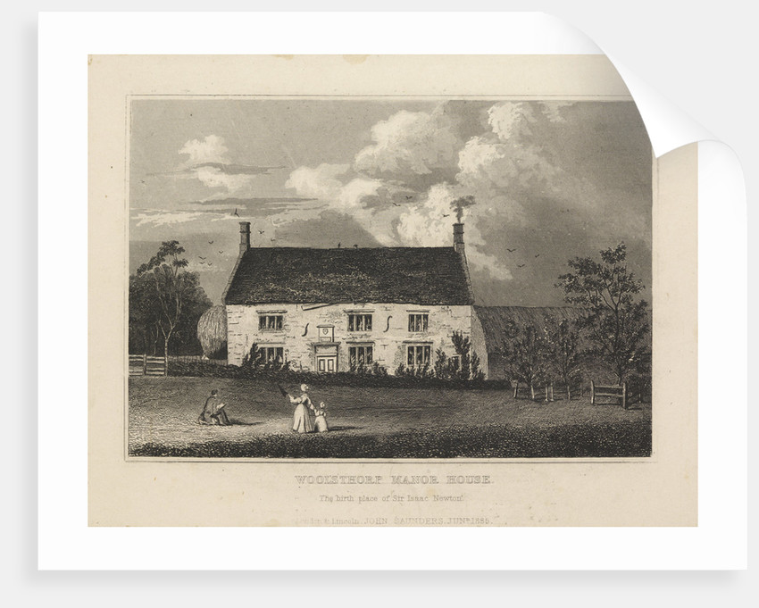 Woolsthorpe Manor by Anonymous