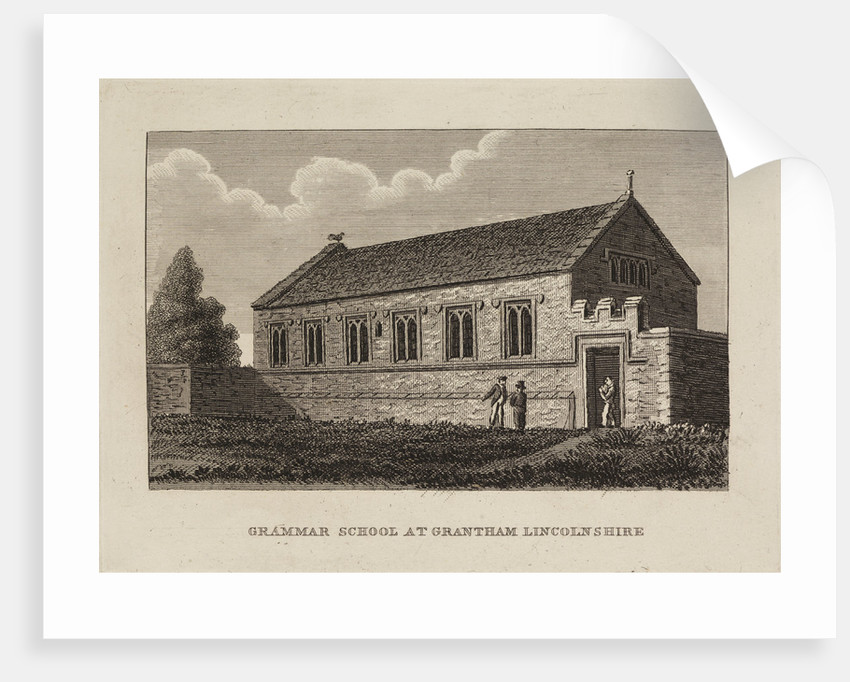 Grantham School, Lincolnshire by Anonymous