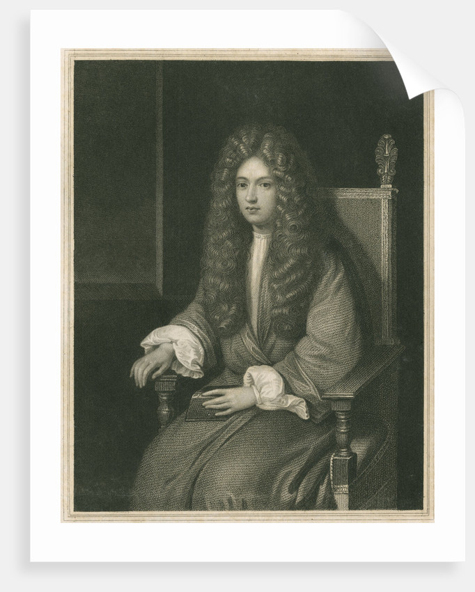 Portrait of Robert Boyle (1627-1691) by William Holl I