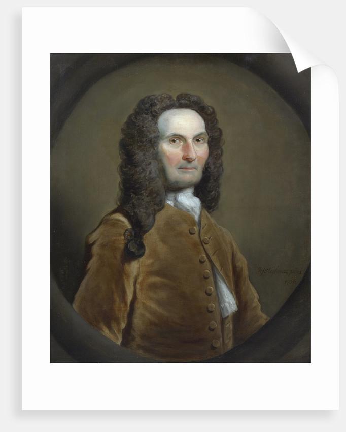 Portrait of Abraham de Moivre (1667-1754) by Joseph Highmore