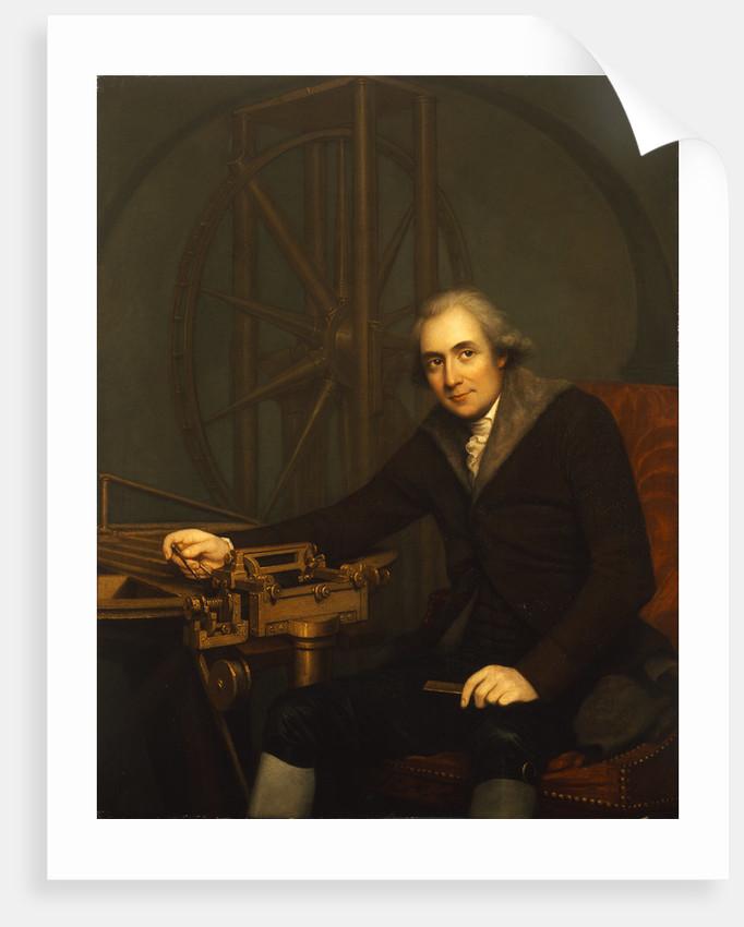Portrait of Jesse Ramsden (1735-1800) by Robert Home