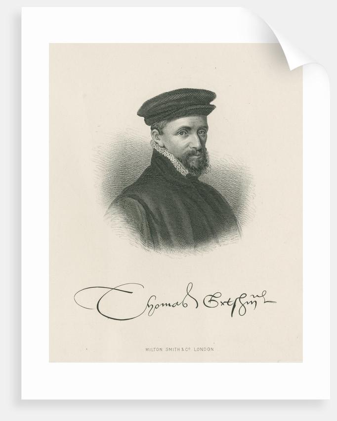 Portrait of Thomas Gresham (1513-1579) by Milton Smith & Co