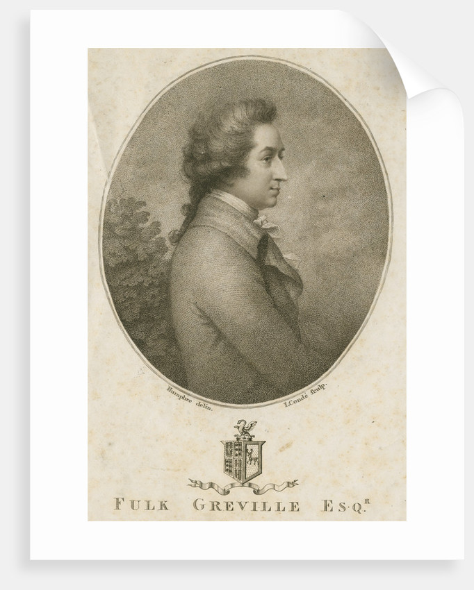 Portrait of Robert Fulk Greville (1751-1824) by Jean Condé