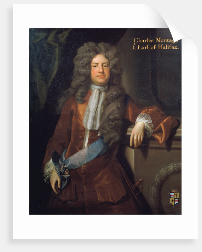 Portrait of Charles Montagu, 1st Earl of Halifax (1661-1715) by Michael Dahl