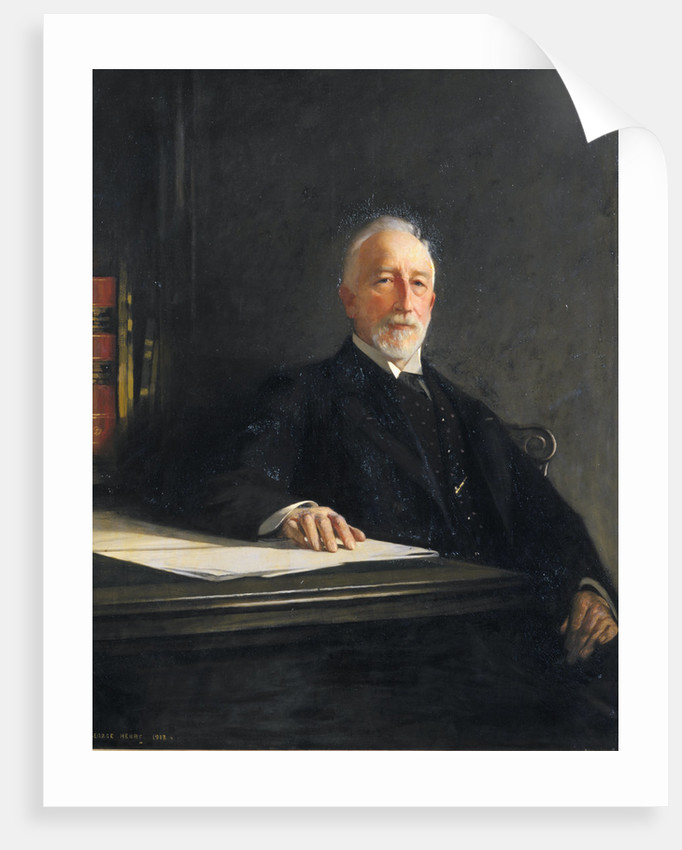 Portrait of David Gill (1843-1914) by George Henry