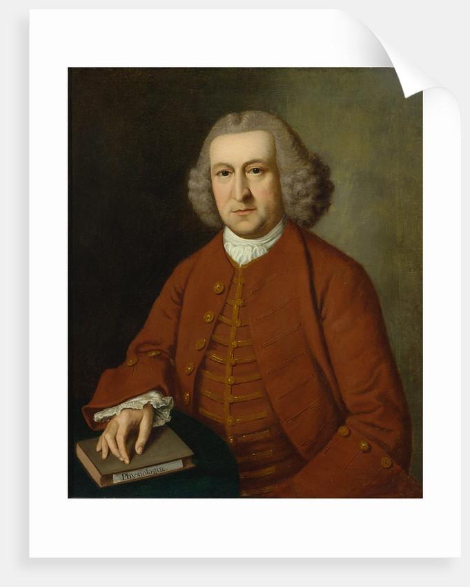 Portrait of Albrecht von Haller (1708-1777) by Charles Stoppelaer
