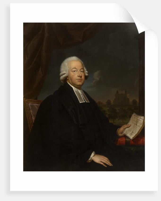 Portrait of Nevil Maskelyne (1732-1811) by Gerard van der Puyl