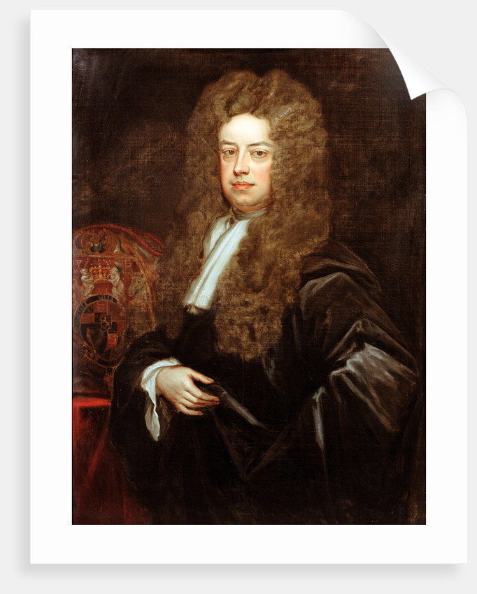 Portrait of John Somers, 1st Baron Somers (1651-1716) by Godfrey Kneller