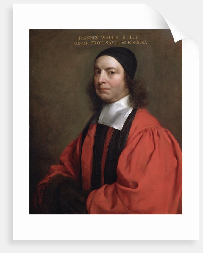 Portrait of John Wallis (1616-1703) by Gerard Soest