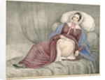 Portrait of Elizabeth Powis showing a leg amputation by Leonard