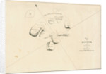 Chart of the sea floor after salvage operations on the wreck of H.M.S.Thetis by John Frederick Fitzgerald De Roos