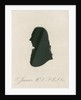 Portrait silhouette of Edward Jenner (1749-1823) by Anonymous