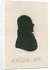 Portrait silhouette of William Woodville (1752-1805) by Anonymous