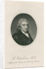 Portrait of Benjamin Waterhouse (1754-1846) by Richard Reeve