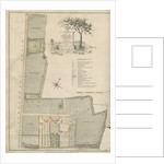 A plan of Grove Hill, Camberwell, Surrey by James Edwards