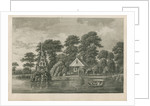 Pleasure garden at Grove Hill, Camberwell, in Surrey by Anonymous