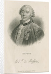 Portrait of George Louis Leclerc, Comte de Buffon (1707-1788) by William Home Lizars
