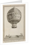 A balloon in flight by Anonymous