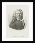 Portrait of Henri Franþois Le Dran (1685-1770) by Ambroise Tardieu
