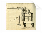 'Ambe of Hippocrates': contraption for repairing dislocated shoulder by Claude-Nicholas Le Cat