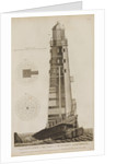 Rudyard's Lighthouse on the Eddystone Rocks by James Record