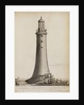 Smeaton's Lighthouse on the Eddystone Rocks by Edward Rooker