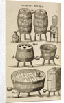 Wooden vessels for distilling, beer-making and bathing by unknown