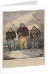 Three Inuit from Boothia Felix by John Brandard