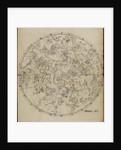 Northern planisphere, from John Flamsteed's 'Atlas Coelestis' by unknown