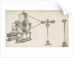 Improved electrical machine at Teyler's Museum by Izaac Jansz de Wit