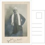 Portrait of Chandrasekhara Venkata Raman (1888-1970) by Bourne & Shepherd