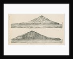 Two views of Krakatoa by Anonymous
