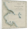 Map of Tappanooly Bay, Sumatra by unknown
